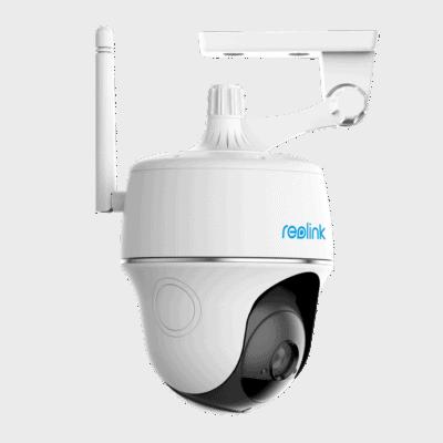 Argus PT- Batteridrevet pan/tilt WIFI kamera