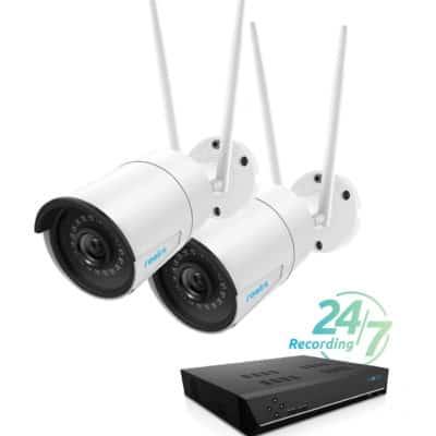 WIFI kamerapakke med mulighet for 8 kamera