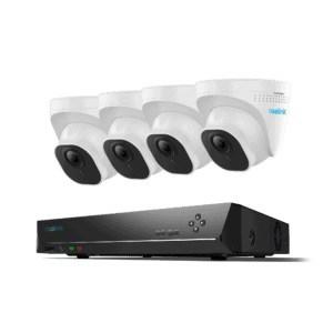 Komplett kamerasystem med 4 stk 5MP kamera
